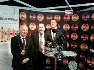 John with The Lord Provost of Aberdeen and The Mayor Of Halifax, Nova Scotia